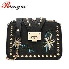 Modekette Frauen Tasche Designer-handtaschen Hoher Qualität Floral Crossbody Taschen Für Frauen Flap Messenger Bags Damen Bolso Mujer