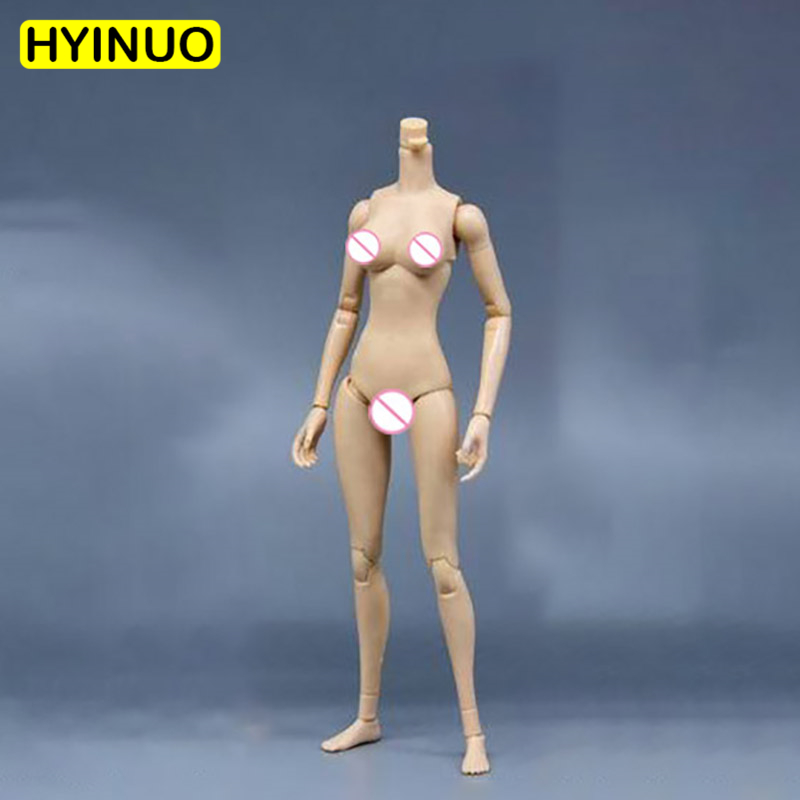 1 6 Scale 3 skin color mannequins S02 Female Rubberized Sit Slim Girl Body Action Figure Body Female 12 39 Body Figure Accessory in Action amp Toy Figures from Toys amp Hobbies