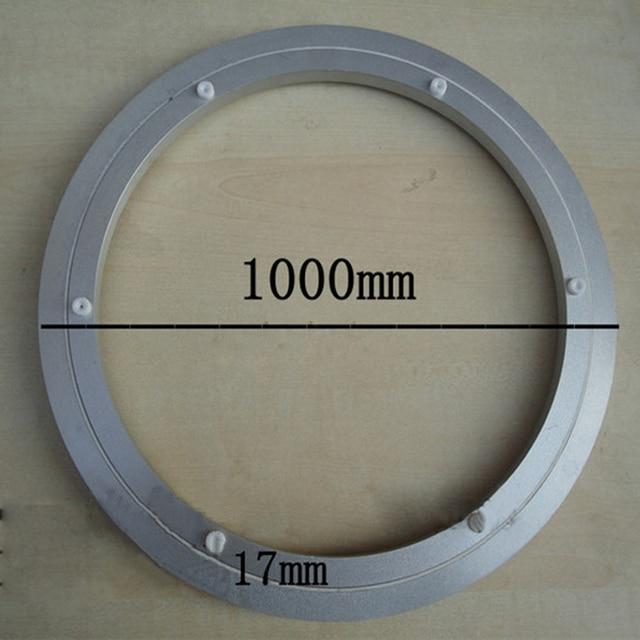 En Alliage Daluminium Double Tv Pivotant Roulement Platine Lazy