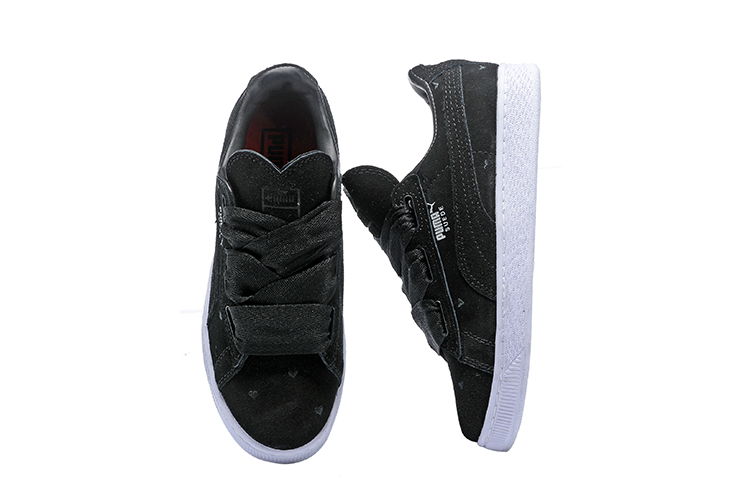 2018 New Arrival PUMA Womens Suede Heart Valentine womens Sneakers Badminton Shoes size 35.5-39