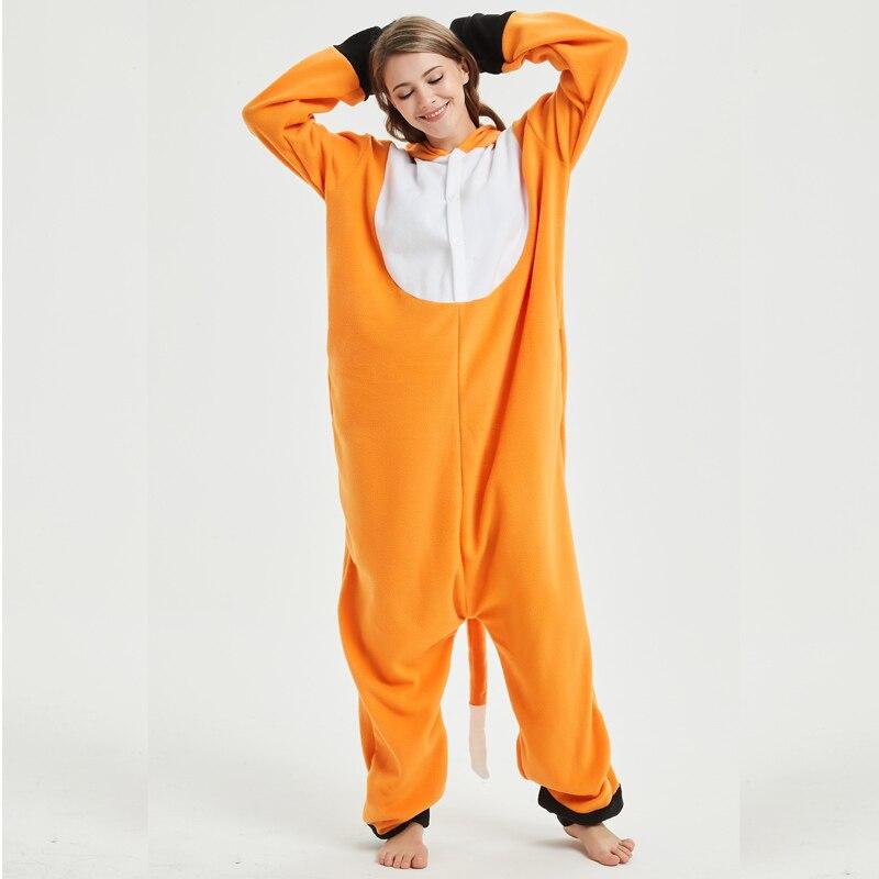 fox adult onesie pajamas (2)