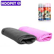 HOOPET Pet Dog Cat Shower Towel Pink and Grey Pet Bath Products S L