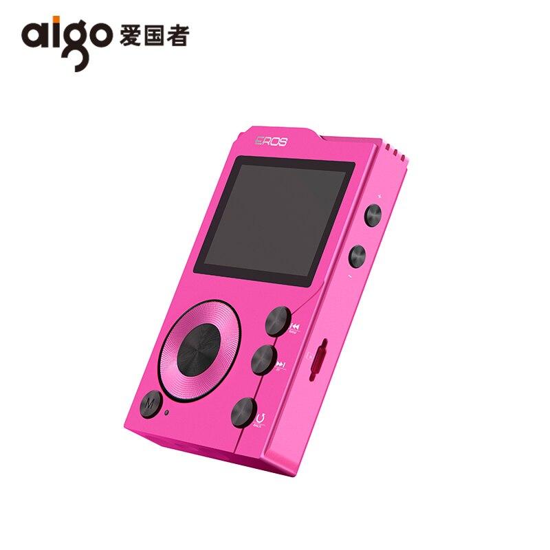 Aigo EROS K Hifi MP3 Player Lossless bluetooth 4.0 Mini Sport Music Player HiBilink Decoding DSD Wireless DAC AXU Audio USB