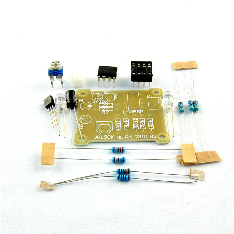 XNWY LM358 breathing light parts / electronic DIY fun making kit 5mm flashing light electronic production suite