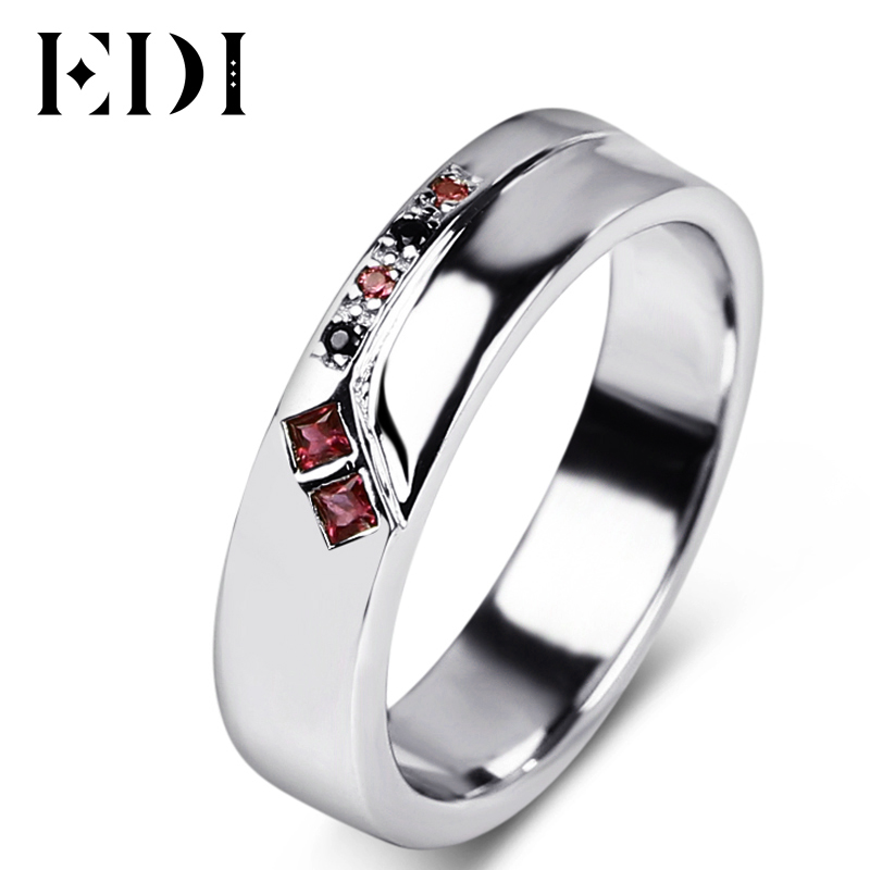 EDI Customized Jewelry Ruby Gemstone Engagement Ring Harley Quinn