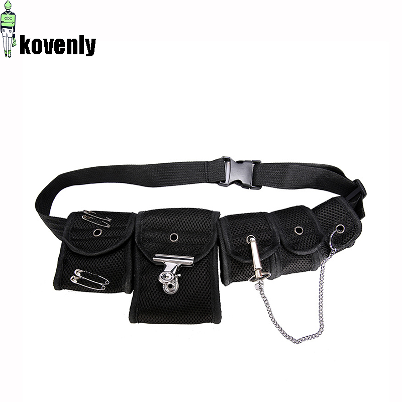 Men Functional Chest Bag Street Fashion Crossbody Bag Multi-pocket Waist Bag FashionHip Hop Nylon Fanny Pack 030280