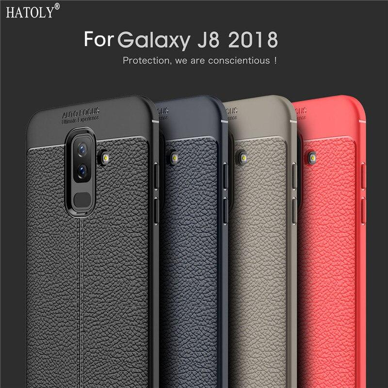 For Samsung Galaxy J8 2018 Case Cuero For Samsung Galaxy J8 2018 Back Cover Silicone For Samsung Galaxy J8 Phone Cases SM-j810f{