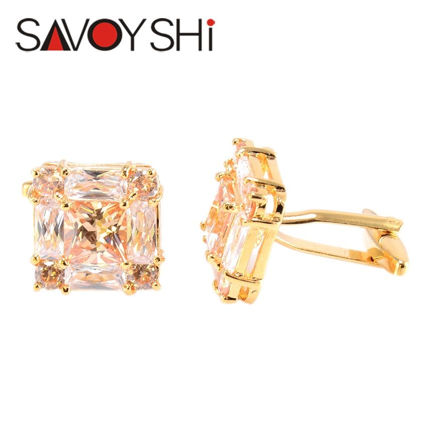 SAVOYSHI շքեղ ircիրկոնյան ճարմանդներ - Նորաձև զարդեր - Լուսանկար 4