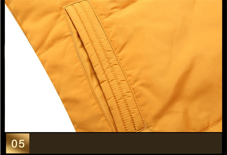 Winter Down Jacket Men Fur Parka Fashion Casual Thicken Warm Fur collar Hooded Men Women jacket&coat couple Down Jacket S-5XL (17)