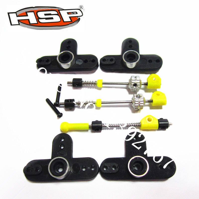 81027 Brake&Throttle Assembly Set For HSP RC 1/8 Model RC Car Spare Parts BAZOOKA Tornado RAPIDO Rattlesnake Copperhead SEAROVER  81021 drive gear joint cups rc hsp 1 8 parts rc car monster truck buggy bazooka tornado rapido rattlesnake copperhead searover