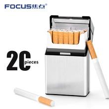 FOCUS Cigarettes case box Aluminum  Cigar Tobacco Storage Container Gift plastic Box otomatik sigara sarma makinesi men women