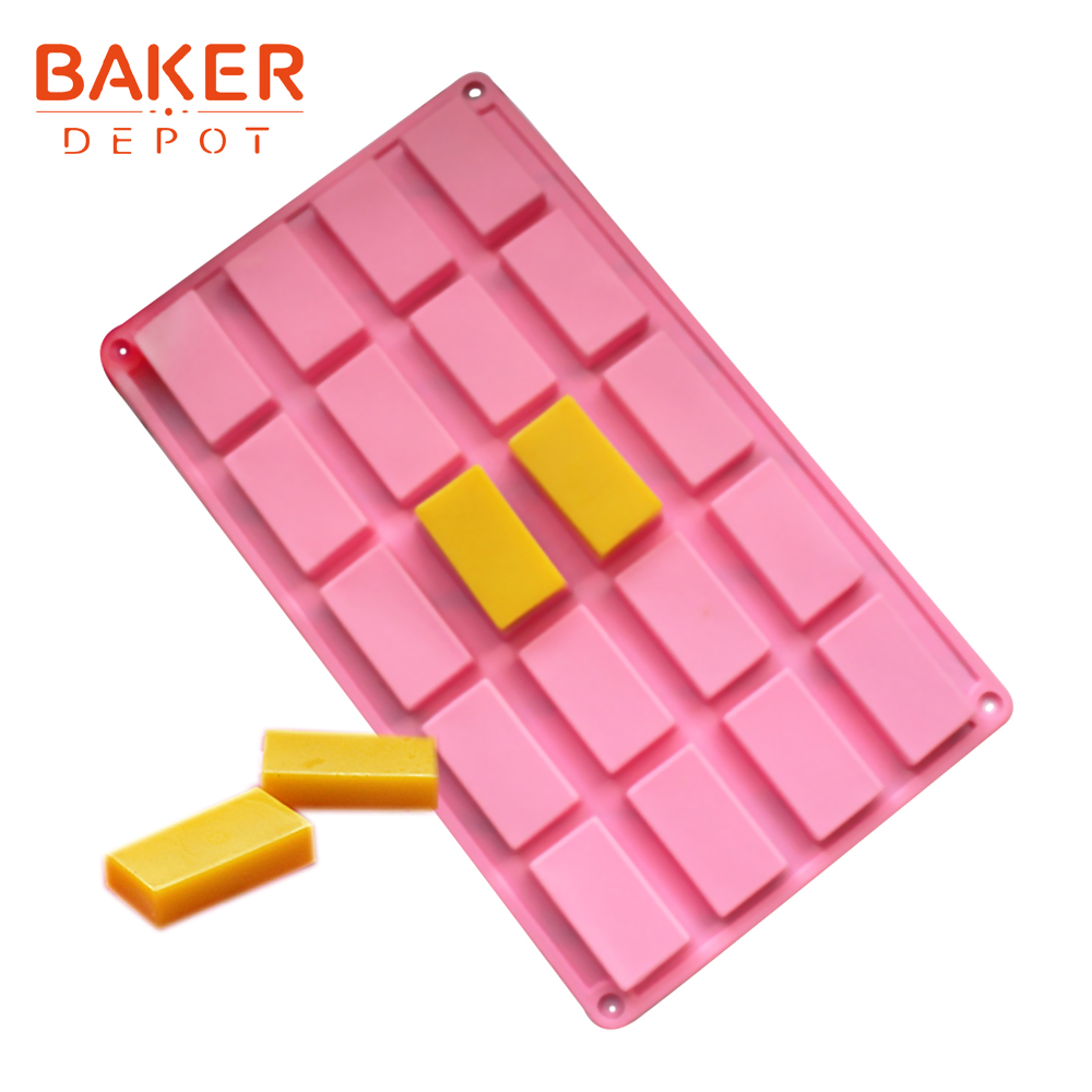 <font><b>BAKER</b></font> <font><b>DEPOT</b></font> silicone mold for soap cake baking silicone chocolate cookies biscuit pastry form ice cube pudding jelly candy mould image