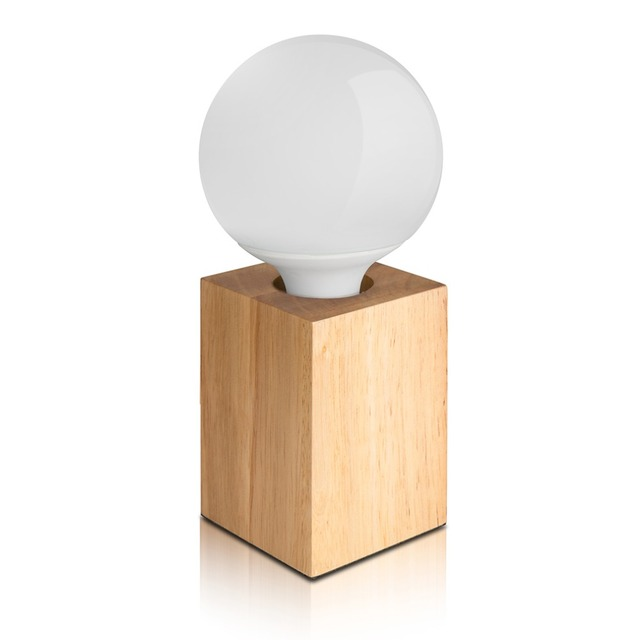 2017 Design Moderno de Madeira Super Ofertas Regulável Candeeiro de mesa Para Casa Quarto Carvalho Candeeiro de Mesa Circular/Forma Quadrada Lâmpada Noite