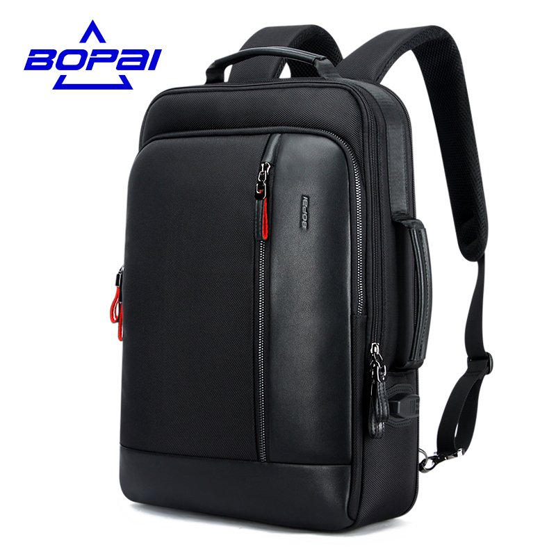 BOPAI 3 Kinds of Using Methods Travel Backpacks for Men Mochila Capacity Can Be Enlarged Cool Mens Backpacks Shoulder Bag Mens numerical study of dynamic relaxation methods