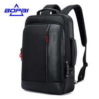 BOPAI 3 Kinds Of Using Methods Travel Backpacks For Men Mochila Capacity Can Be Enlarged Cool