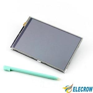 Image 2 - 4 дюймовый дисплей Elecrow Raspberry Pi с сенсорным экраном, ЖК TFT HD 480X320, Интерфейсный монитор Spi для Raspberry Pi A + B +/2B 3B