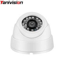 H.265 IP de Bajo Precio Cámara de 5MP $ NUMBER MP 1080 P Cúpula Cubierta de Plástico IR Lente de 3.6mm CCTV Cámara de Seguridad de Red Onvif P2P iPhone Android