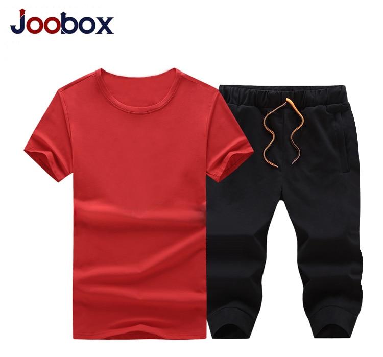 Joobox летний комплект из двух предметов короткий рукав Футболка Для Мужчин's