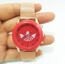 New Women's Watch Luxury Rose Gold Women Stainless Steel Mesh Quartz Wrist Watch reloj mujer Casual Dress Watch Gift kobiet все цены