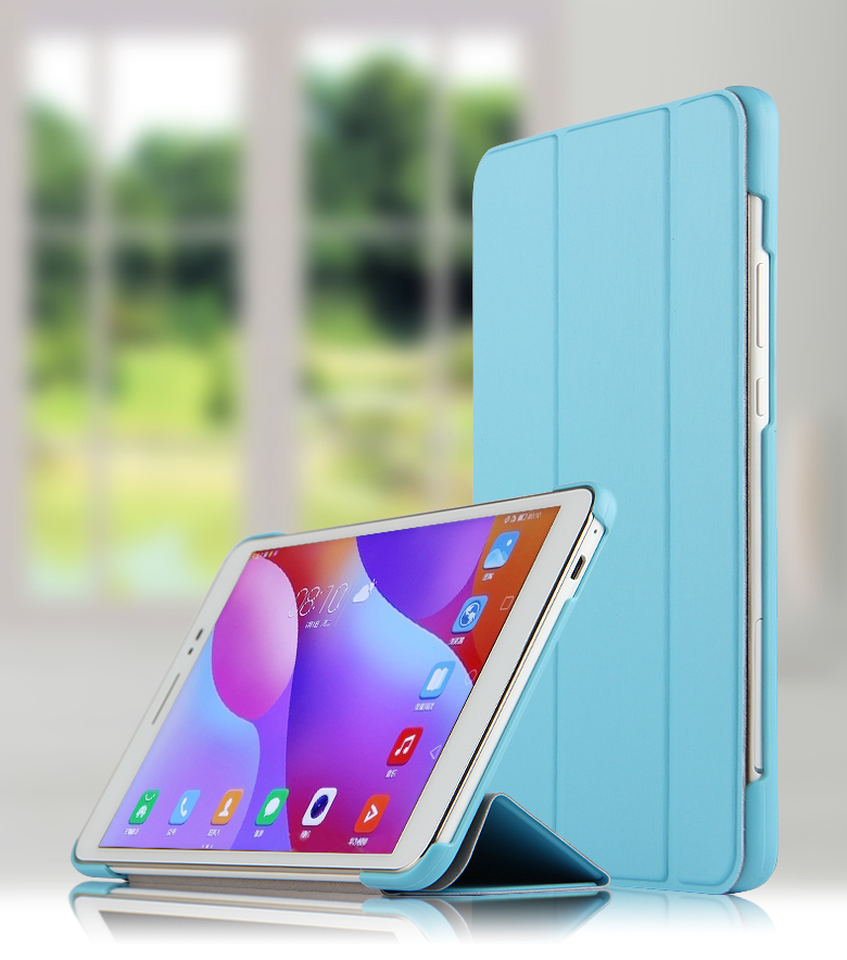 High Quality PU Leather Stand Case Cover For Huawei Mediapad T2 8 Pro (Honor Tablet 2) JDN-AL00 JDN-W09 8.0
