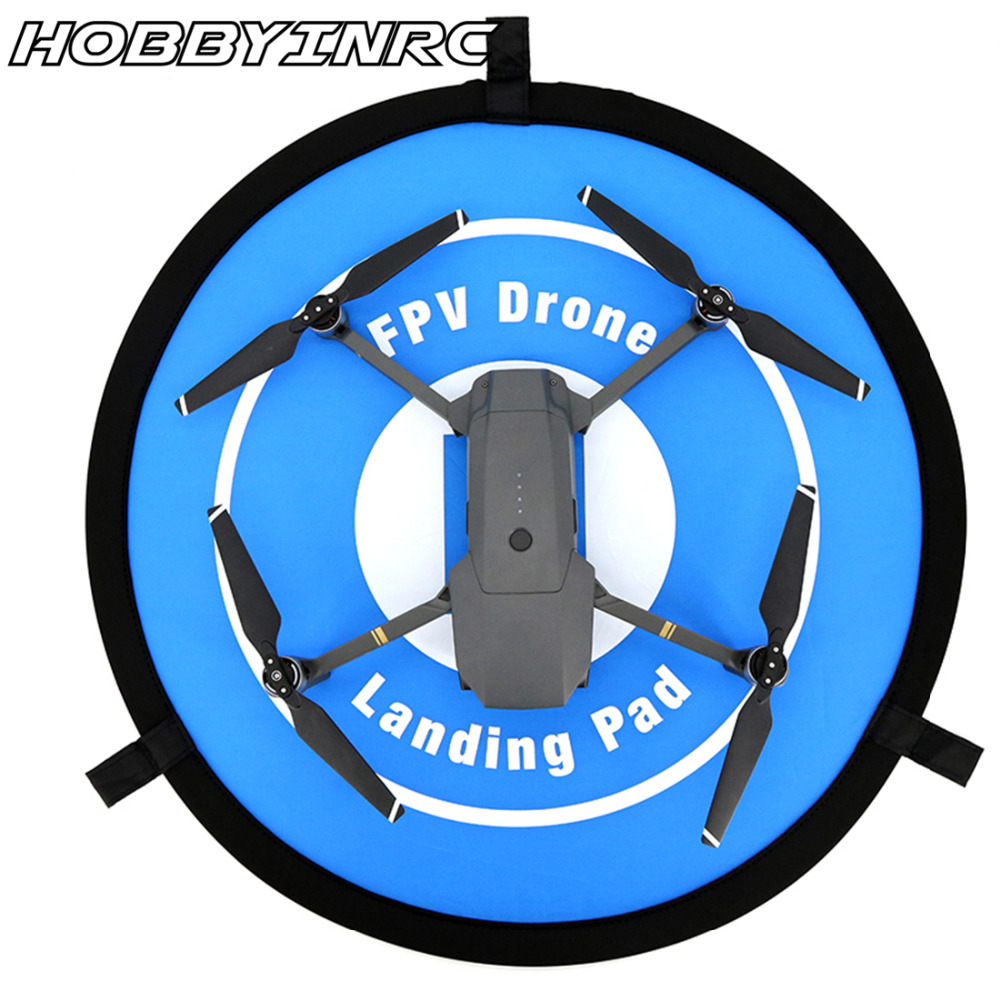 HOBBYINRC 2017 New Style 55CM Fast-fold Landing Pad For Spark General for RC Drone for dji mavic pro accessories