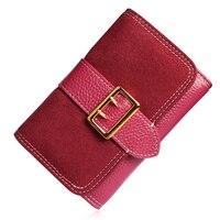 Новое поступление amasie пояса кошелек известный бренд Дизайн из искусственной кожи Для женщин модные короткие кошелек Леди Раза молнии бумаж