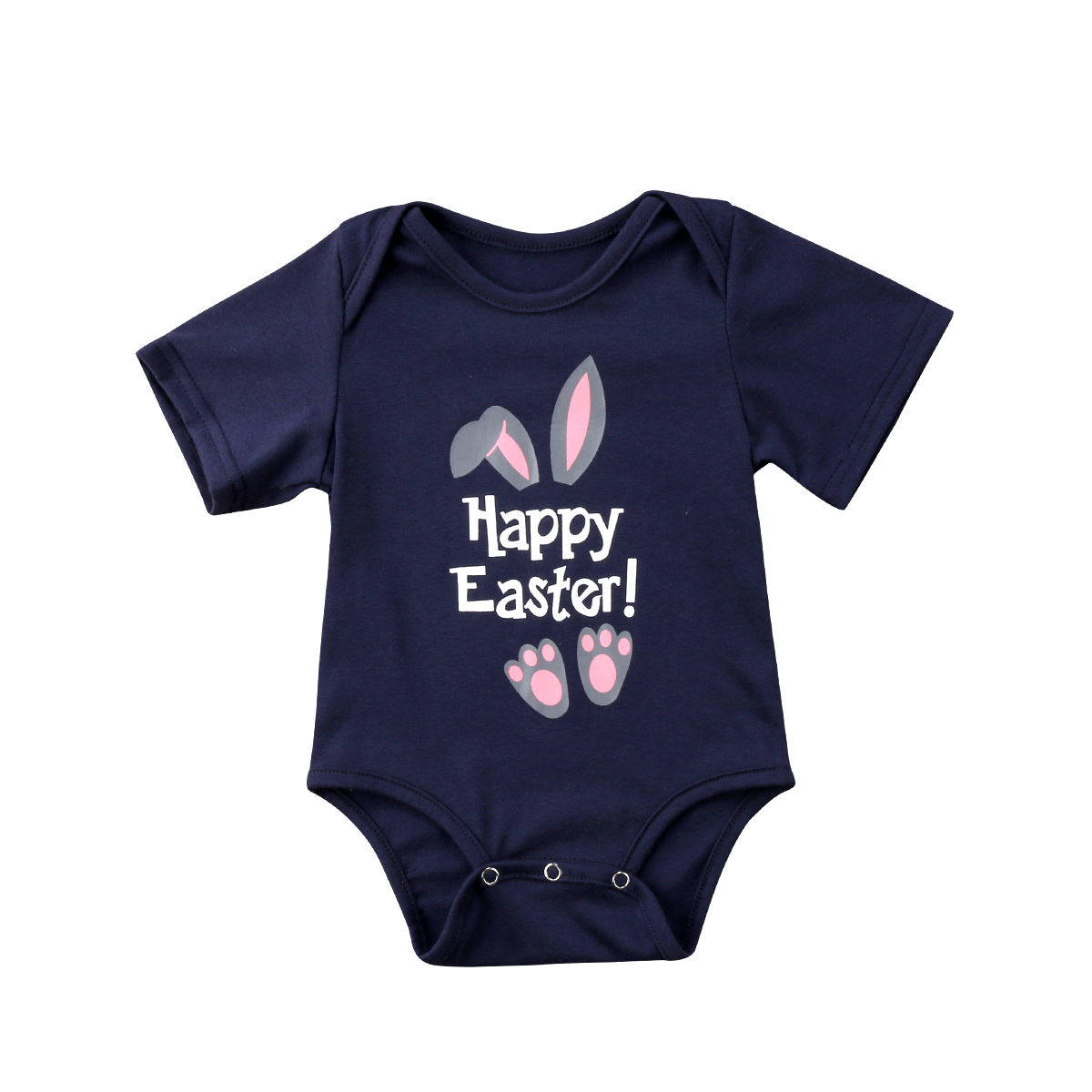 Easter Newborn Baby Boy Clothes Bunny Ears Bodysuit