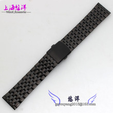 Montre avec bracelet en métal générale 22 mm noir men 's Watch