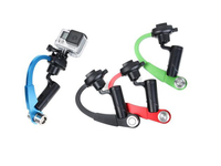 Mini Tripod Handheld Stabilizer Steady Bow Shaped Mount Holder For Gopro Hero 4 3 3 SJCAM