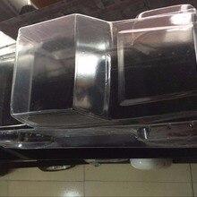 Новинка 1/10, колесная база 313 мм для 1:10 rock rc, гусеничный автомобиль, корпус ПК, прозрачный корпус для осевой D90 TRX4