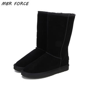 MBR FORCE Genuine Leather Winter Women Snow Shoes