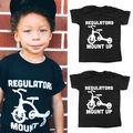 Toddler Kid Baby Boy Girl Clothing Tops Cartoon Casual Short Sleeve T-shirt Top Baby Boys Clothes 2-6Y