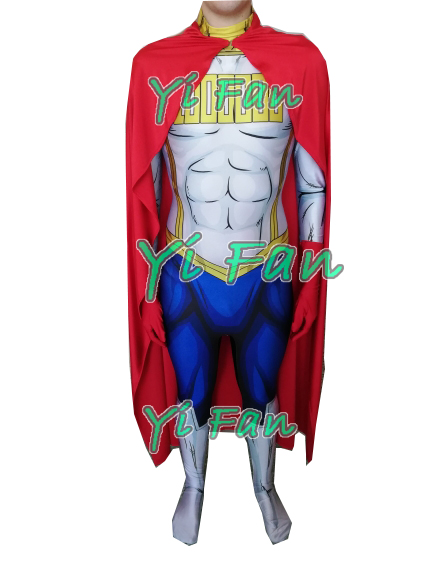 <font><b>Mirio</b></font> Togata <font><b>Cosplay</b></font> Costume 3D Print Spandex Zentai Suit <font><b>Mirio</b></font> Togata Halloween Costume for Men Freeshipping Hot Sale image
