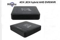 H 264 Hybrid AHD DVR 1080N 4CH 8CH CCTV DVR Mini DVR CCTV Kit VGA HDMI