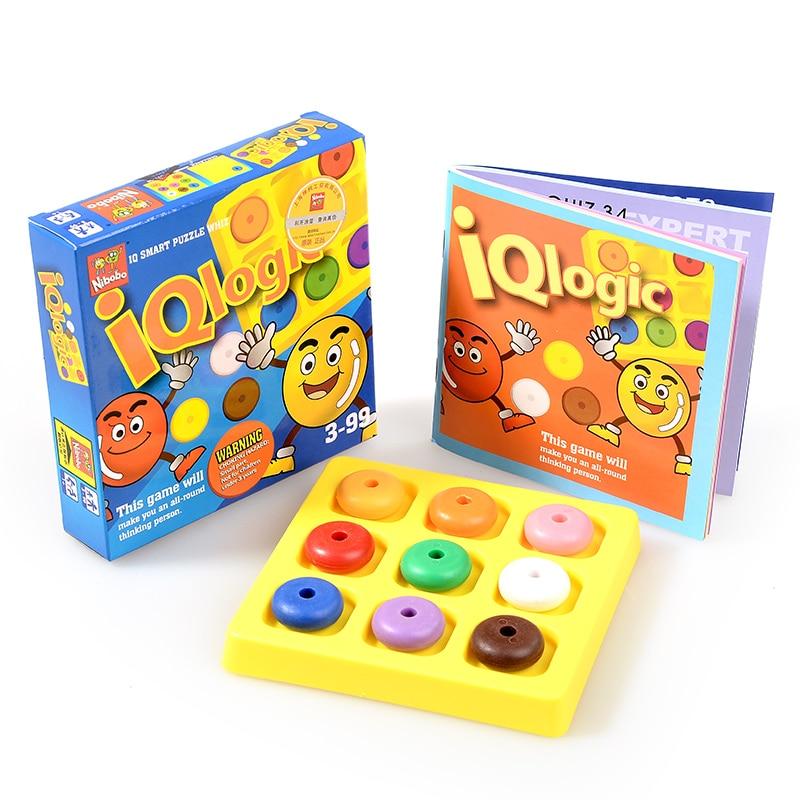 Kvaliteta IQ Logika Puzzle Mind Brainteaser Djeca Obrazovne zagonetke - Igre i zagonetke - Foto 3
