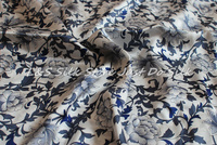 NEW Free shipping China style for 100% pure silk fabric floral printed silk fabric for bedding set dress sacrf LS0715