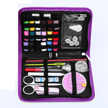 hot deal buy 52in1 new styles special offer spools assorted colors sewing threads needles set sewing tools kit.sewing tool storage box.