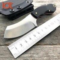 LDT Columbia Jagd KYDEX Gerade Feststehende Messer Edelstahl Klinge G10 Griff Überleben Camping Taktisches Messer EDC Werkzeug