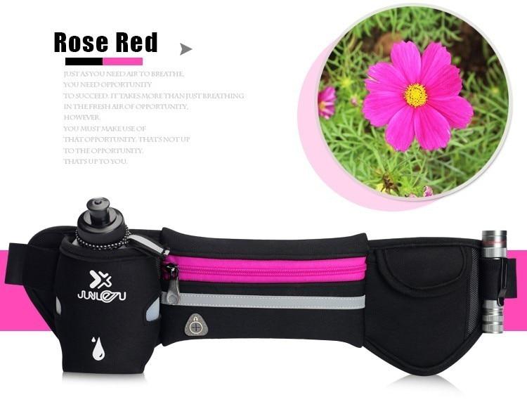 Outdoor Women&Men Hydration Belt For Trail Running Hip Waist Pack Gym Fitness Jogging Waist Bag Water Bottle Sport Accessories 22