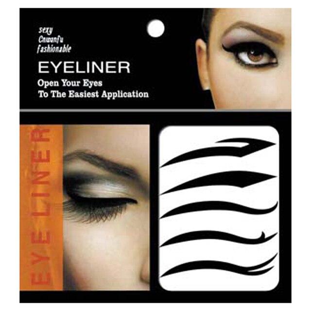 5 пара мода глаз татуировка трансфер временная мгновенных татуировка Eyeshadow карандаш для глаз наклейки красоты макияж глаз стикер сексуальная кошка 5 стиль