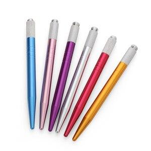 Image 1 - Microblading קעקוע מכונת כלים קעקוע קבוע קעקוע גבות איפור עט ידני ידית ריס מיני ידני כלים