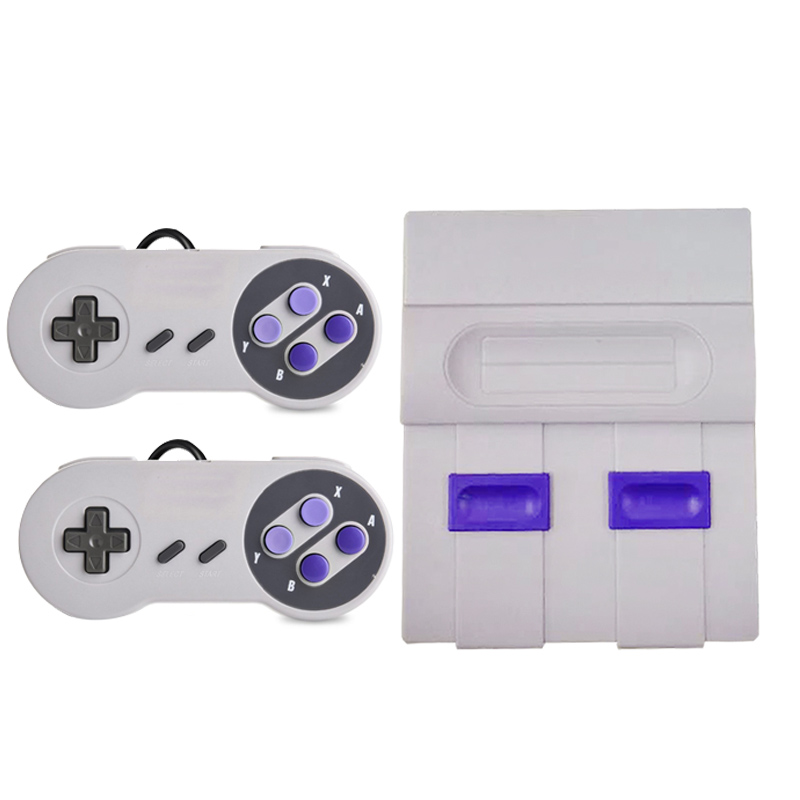 Mini HD HDMI TV Video Game Console Family Handheld Retro Game Console Built-In 821 Classic games for SNES Dual gamepad PAL&NTSC-4