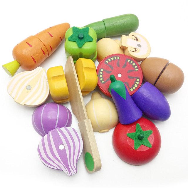 8 Styles Candywood Wooden Kitchen Toy for Preschool Children