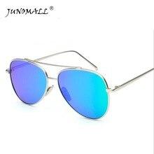 Лидер продаж мода звезды солнцезащитные очки для мужчин и женщин поляризованный Авиатор зеркальные линзы УФ Защита от солнца очки 3017 HD