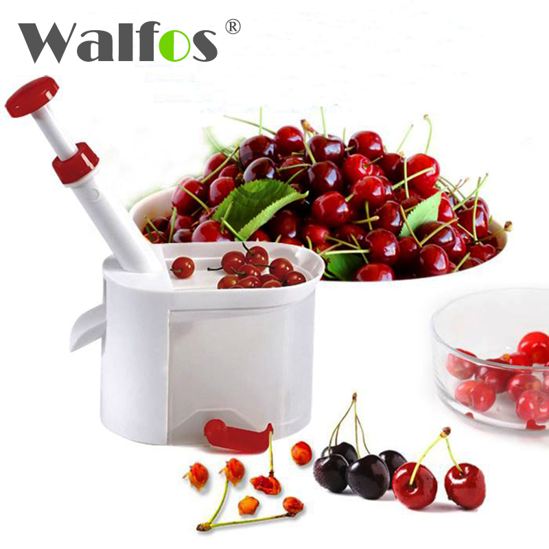 WALFOS BRAND High Quality Novelty Cherry Pitter Remover Machine New Fruit Nuclear Corer Kitchen Tools