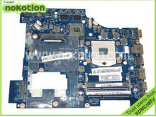 NOKOTION LA 6753P For Lenovo G570 Laptop motherboard intel HM65 DDR3 Socket PGA989 With ATI Graphics