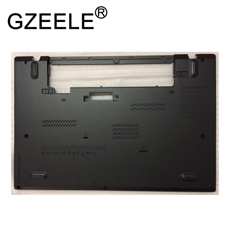 цены GZEELE new Laptop LCD top cover case for Lenovo for Thinkpad T450S Bottom Case Base Cover 00PA886 AM0TW000100 W/Dock Lower Case
