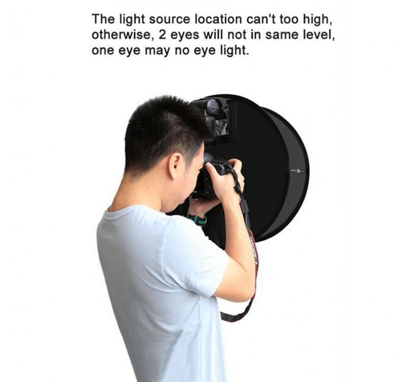 Foldable Speedlight Softbox - Ring Flash Diffuser