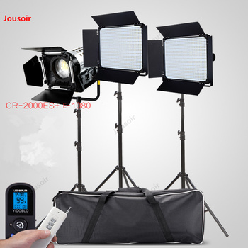 E1080+2000W movie spotlight Studio lamp photography light set CD50 T07