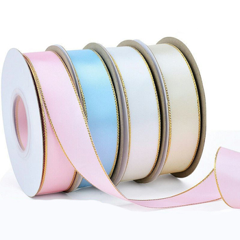 Phnom penh satin 10 25 38mm ribbon DIY handmade materials gift package Christmas New Year wedding decoration 10 yards polyester image